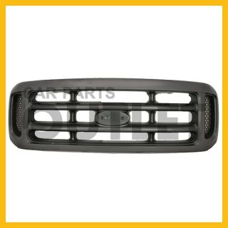99 03 Ford F250 Superduty Argent Bar Grille Grill XLT XL Lariat Replacement New