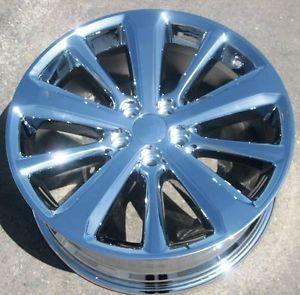 "Set 4 19"" Factory Toyota Highlander Hybrid Chrome Wheels Rims RX350 RX330 69548"