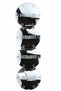 GMC Terrain Hub Cap Wheel Center Chrome 9597571 Set 4 19""