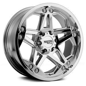18 inch Chrome Wheels Rims Chevy 2500 3500 Dodge Ford Truck F250 F350 8x6 5 Lug
