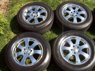 """17"""" Factory Chrome Mercedes R ml Class Wheels R350 ML350 ML550 Tires Package"""