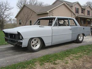 1967 Nova Chevy II Pro Street Project Great Parts Car Auction Flyer
