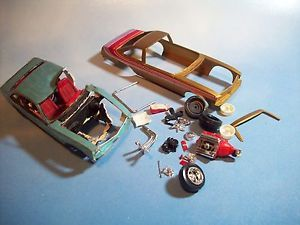 MPC 1977 78 Chevrolet Nova Parts Cars Model Kit Check The Pics