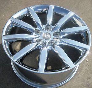 "19"" Factory Jaguar XK8 Chrome Wheel Rim 1 Single Rear Rim ""Atlas"" 59795"