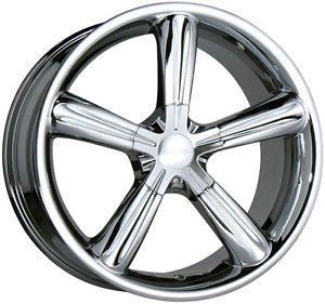 "18"" Chrome Stellar Wheels Rims 18x8 5 ET35 Audi TT Coupe VW Beetle 5x100 Only"