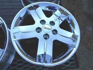 """2012 2013 GMC Terrain 18"""" Chrome Alloy Wheel Rim"""
