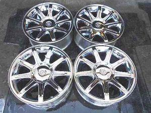 """Chrysler 300C 18"""" Chrome Alloy Wheel Rims Set LKQ"""