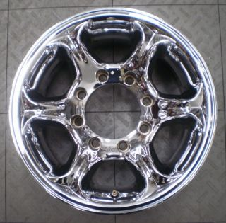 """American Racing Ford F250 F350 16"""" Aftermarket Chrome Wheels Rims 4"""