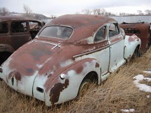 1941 Chevy Coupe Parts Car