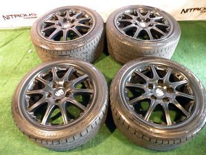"18"" Factory Porsche Carrera Wheels 911 Narrowbody 993 996 997 BBs Tires 2pc"