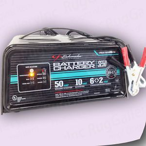 how to tell if a car battery charger is working