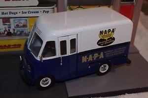 Diecast 1 25 1 24 1950 Ford Step Van Panel Truck Napa Auto Tools Opens Sweet