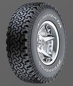 BFGoodrich All Terrain T A KO Tire 33 x 12 50 15 Solid White Letters 09681 Pair
