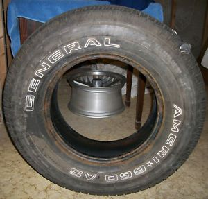 General Ameri 660 as Tire 255 70R16 11 32NDS Tread Used