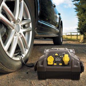 New Stanley Fat Max 450 Amp Car Battery Jump Start Starter Air Compressor Pump