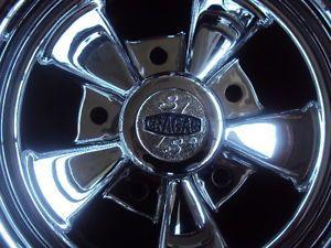 "Cragar s s Super Sport Chrome Wheels Rims 15""x8"" 5x5 5"" Set of 4 Original"