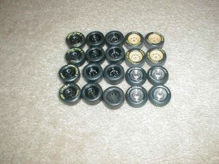 AMT 1 25 1 24 Vintage NASCAR Stockcar Stock Car Wheels Tires Model Parts Lot