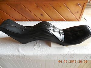 Iron Head Sportster Vintage 1970's Harley Davidson Motorcycle Seat King Queen