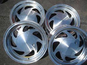 "15"" American Racing AR214 Wheel Set 5x139 7 Rims Ford Dodge Trucks Vans"