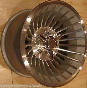 15x8 5 Fenton Fan Jet 25 Spoke Turbine Aluminum Mag Wheels Custom Cyclone Rims