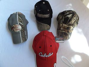 Mens Caps Hats Ball Caps Assortment Cabela's Bass Pro Cavenaughs Truck Drive