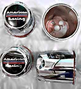 4 Blems American Racing Outlaw Wheels Center Caps 4 Lug 1293000 2 93 Bore