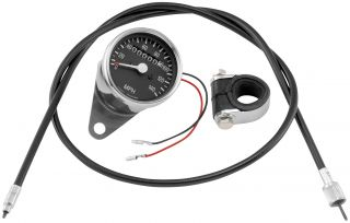 Bikers Choice Custom Mini Speedometer Kits 2 1 Ratio 71975 Harley Davidson