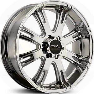 American Racing AR 708 20 x 9 6 x 135 0 Offset Chrome 1 Wheel Rim
