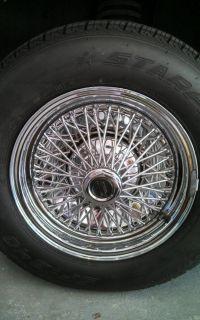 RARE American Racing Wire Wheels