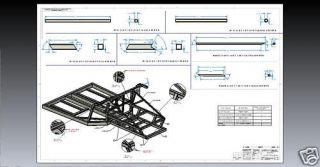 Lamborghini Diablo Murcielago Kit Car Chassis Plans