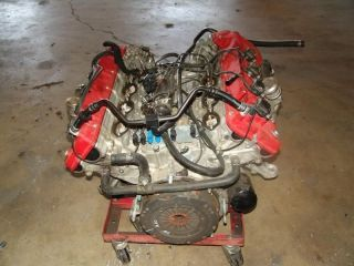 05 Maserati M128 4200 Coupe GT V8 Engine Motor Assembly 4 2L 30 000 Miles