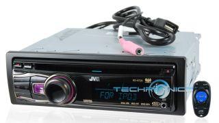 JVC KD A725 2yr WARNTY Car Stereo Receiver Radio CD  Pandora Player USB Aux