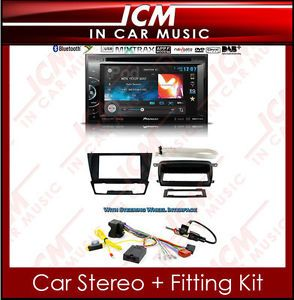 BMW 3 Series E90 DVD Player USB  Pioneer CD Stereo Double DIN Car Radio Kit