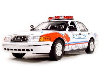 Ford Windsor Police Car 1 18 Scale Diecast Model