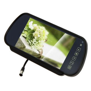 """7"""" TFT LCD Color Car Rearview Monitor Camera DVD VCR"""