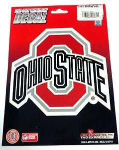 Ohio State Buckeyes Vinyl Die Cut Decal Car and Auto Window Sticker NCAA