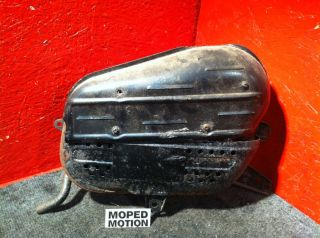 Nice Exhaust Muffler Tail Pipe 1984 Honda Elite 125 CH125 Spacy Moped Motion