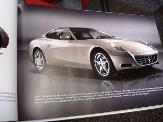 Official Ferrari 612 Scaglietti Large Hard Cover Brochure Book 95993031