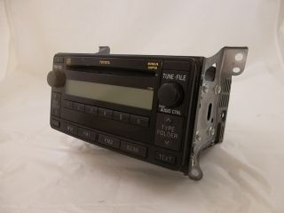 CD Player Stereo Toyota Yaris HTBK 09 10 2009 2010 for Parts Only 240710