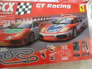 SCX Compact GT Racing Series Ferrari 1 43 Slot Car Race Tracks Parts Only