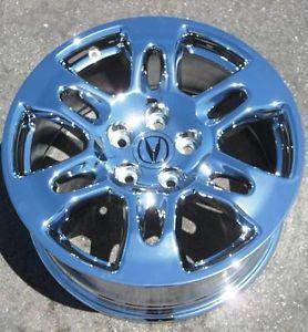 "Exchange Your Stock 4 New 18"" Factory Acura MDX Chrome Wheels Rims 71759"