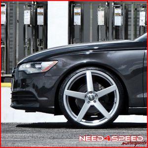 """20"""" Infiniti G37 Sedan XO Miami Concave Silver Staggered Wheels Rims"""