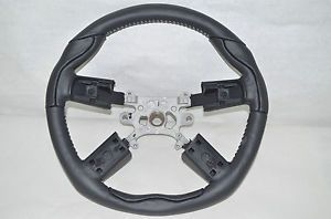 Dodge Chrysler Custom Leather Steering Wheel Mopar 82212401 Silver Stitch 05 10