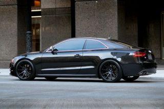 "20"" BMW E46 M3 Coupe Cabrio Rohana RC10 Black Concave Staggered Wheels Rims"