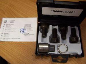 VW Audi Wheel Lock Kit 1K0698137
