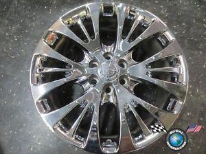 """One 07 12 Cadillac Escalade Factory 22"""" Chrome Wheel Rims 4617 CK366"""