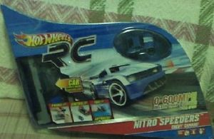 Hot Wheels RC Nitro Speeders Chevy Camaro Remote Control Car New