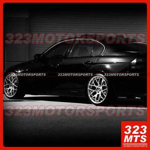 "20"" Ford Mustang GT Wheels GT500 Avant Garde M510 Silver Concave Wheels Rims"