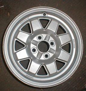 "Fiat 124 2000 Spider Cromodora Factory Alloy Wheel 14"" Turbo 1980 83 8909"