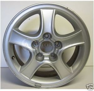 2001 2002 2003 2004 Hyundai Sante FE Alloy Wheel 16x6 5